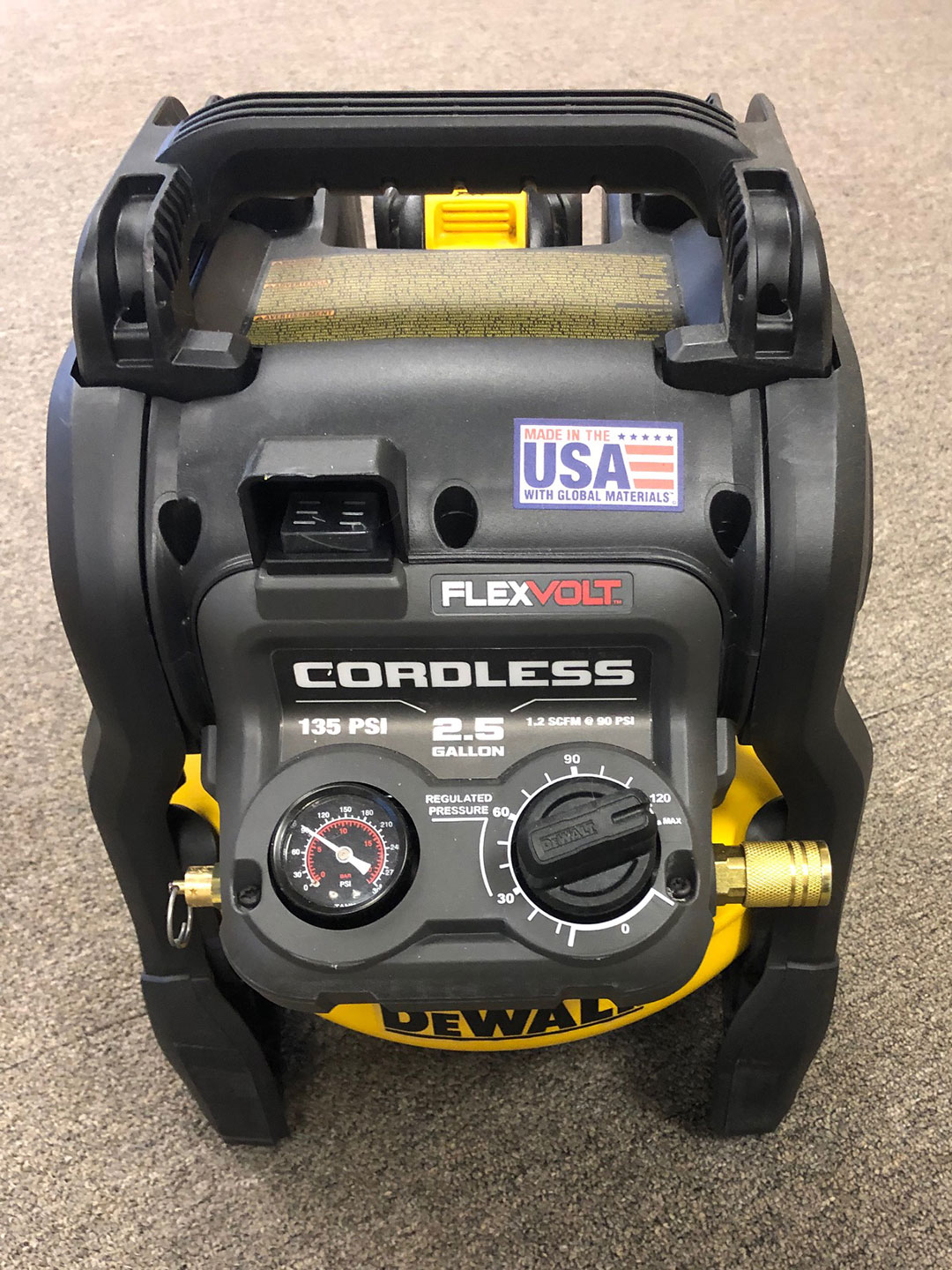 Dewalt Battery Powered Air Compressor Superiorland Rental
